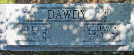 DAWDY, WILLIAM A - Benton County, Arkansas | WILLIAM A DAWDY - Arkansas Gravestone Photos