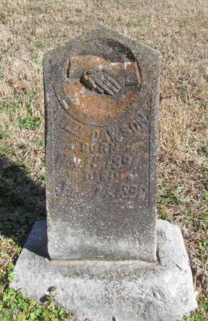 DAWSON, WILLY - Benton County, Arkansas | WILLY DAWSON - Arkansas Gravestone Photos