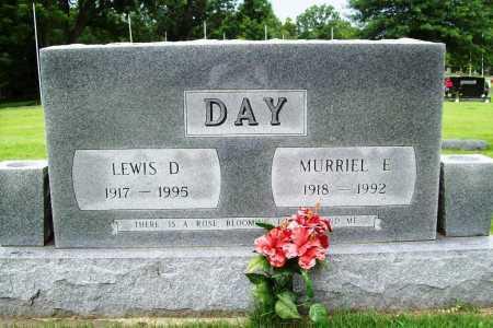 DAY, LEWIS D. - Benton County, Arkansas | LEWIS D. DAY - Arkansas Gravestone Photos