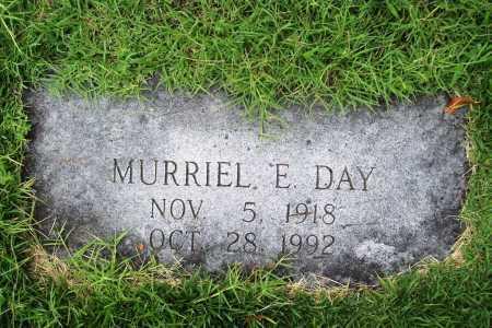 DAY, MURRIEL E. - Benton County, Arkansas | MURRIEL E. DAY - Arkansas Gravestone Photos