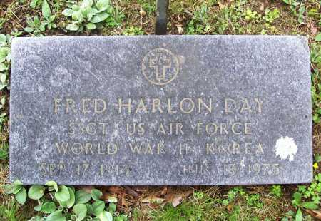 "DAY (VETERAN 2 WARS), FRED HARLON ""FAT"" - Benton County, Arkansas 