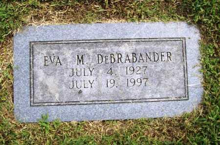 DE BRABANDER, EVA M. - Benton County, Arkansas   EVA M. DE BRABANDER - Arkansas Gravestone Photos