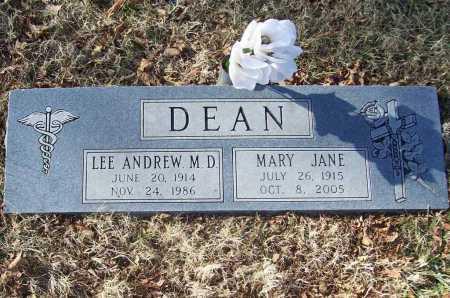 DEAN, MARY JANE - Benton County, Arkansas | MARY JANE DEAN - Arkansas Gravestone Photos