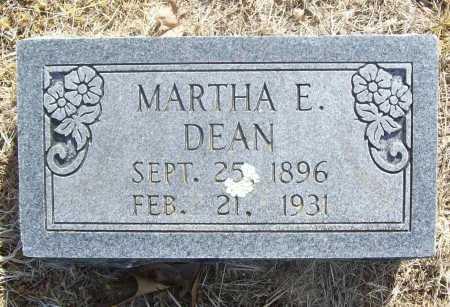 BYLER DEAN, MARTHA ELEANOR - Benton County, Arkansas   MARTHA ELEANOR BYLER DEAN - Arkansas Gravestone Photos
