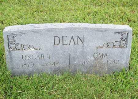 DEAN, OSCAR T. - Benton County, Arkansas | OSCAR T. DEAN - Arkansas Gravestone Photos