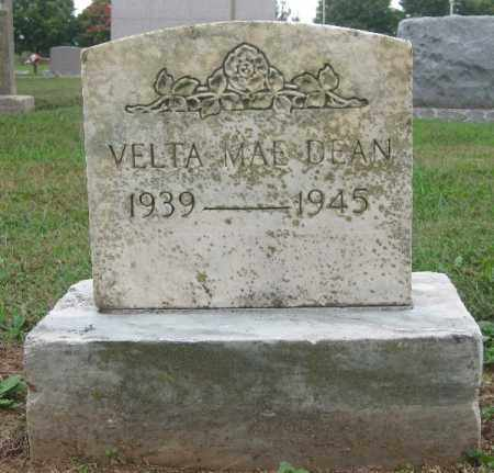 DEAN, VELTA MAE - Benton County, Arkansas   VELTA MAE DEAN - Arkansas Gravestone Photos