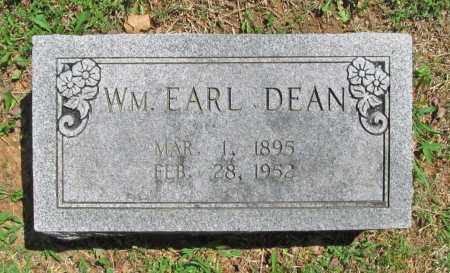 DEAN, WILLIAM EARL - Benton County, Arkansas   WILLIAM EARL DEAN - Arkansas Gravestone Photos