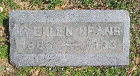 DEANS, M. ELLEN - Benton County, Arkansas | M. ELLEN DEANS - Arkansas Gravestone Photos
