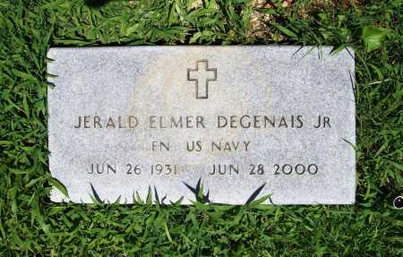 DEGENAIS (VETERAN), JERALD ELMER JR - Benton County, Arkansas   JERALD ELMER JR DEGENAIS (VETERAN) - Arkansas Gravestone Photos
