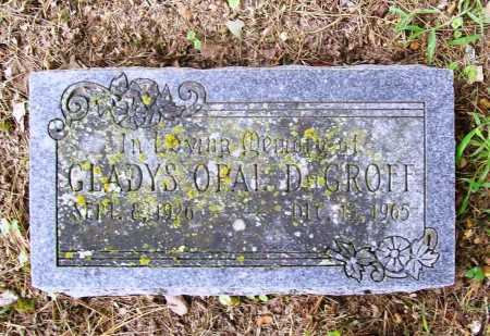 DEGROFF, GLADYS OPAL - Benton County, Arkansas | GLADYS OPAL DEGROFF - Arkansas Gravestone Photos