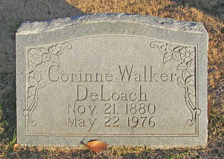 WALKER DELOACH, EMILY CORINNE - Benton County, Arkansas | EMILY CORINNE WALKER DELOACH - Arkansas Gravestone Photos