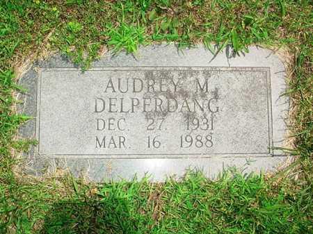 DELPERDANG, AUDREY M. - Benton County, Arkansas | AUDREY M. DELPERDANG - Arkansas Gravestone Photos