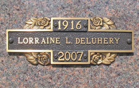 FRAZIER DELUHERY, LORRAINE LOURA - Benton County, Arkansas   LORRAINE LOURA FRAZIER DELUHERY - Arkansas Gravestone Photos