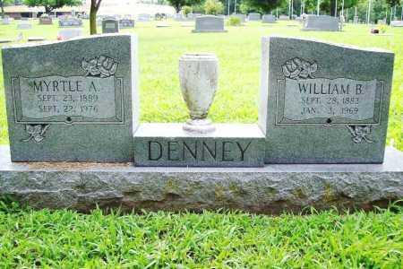 DENNEY, WILLIAM B. - Benton County, Arkansas | WILLIAM B. DENNEY - Arkansas Gravestone Photos
