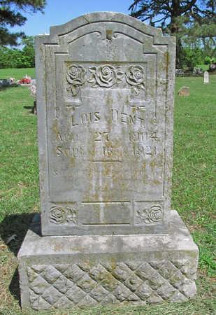 DENT, LOIS - Benton County, Arkansas   LOIS DENT - Arkansas Gravestone Photos