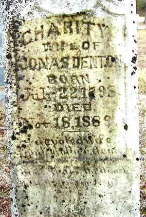 DENTON, CHARITY - Benton County, Arkansas | CHARITY DENTON - Arkansas Gravestone Photos