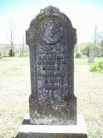 DENTON, SAMUEL - Benton County, Arkansas   SAMUEL DENTON - Arkansas Gravestone Photos
