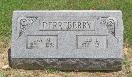 DERREBERRY, IVA M. - Benton County, Arkansas | IVA M. DERREBERRY - Arkansas Gravestone Photos