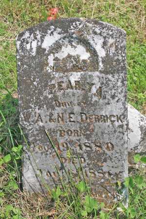DERRICK, PEARLY A - Benton County, Arkansas | PEARLY A DERRICK - Arkansas Gravestone Photos