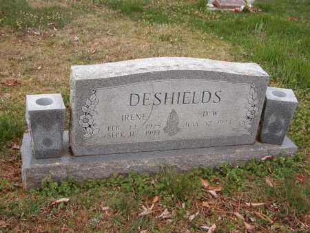 DESHIELDS, D. W. - Benton County, Arkansas | D. W. DESHIELDS - Arkansas Gravestone Photos