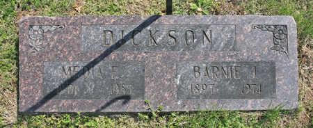 DICKSON, BARNIE J - Benton County, Arkansas | BARNIE J DICKSON - Arkansas Gravestone Photos