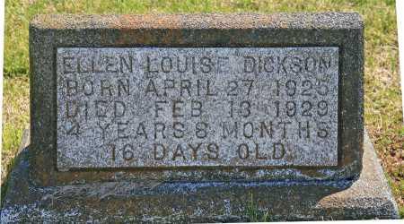 DICKSON, ELLEN LOUISE - Benton County, Arkansas   ELLEN LOUISE DICKSON - Arkansas Gravestone Photos