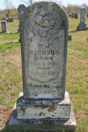 DICKSON, H. J. - Benton County, Arkansas   H. J. DICKSON - Arkansas Gravestone Photos