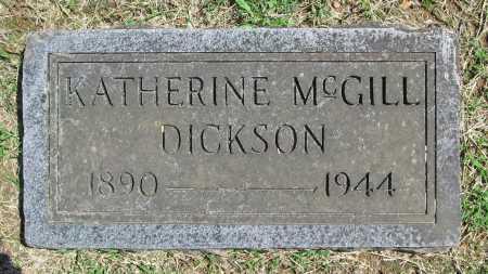 DICKSON, KATHERINE - Benton County, Arkansas | KATHERINE DICKSON - Arkansas Gravestone Photos