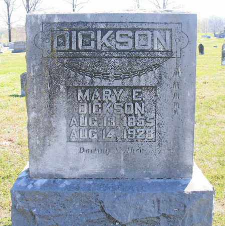 DICKSON, MARY E - Benton County, Arkansas | MARY E DICKSON - Arkansas Gravestone Photos