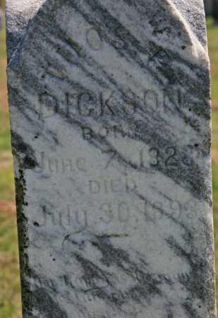 DICKSON, THOMAS P (CLOSEUP) - Benton County, Arkansas   THOMAS P (CLOSEUP) DICKSON - Arkansas Gravestone Photos