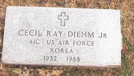 DIEHM, JR (VETERAN KOR), CECIL RAY - Benton County, Arkansas | CECIL RAY DIEHM, JR (VETERAN KOR) - Arkansas Gravestone Photos
