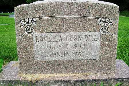DILL, LOVELLA FERN - Benton County, Arkansas | LOVELLA FERN DILL - Arkansas Gravestone Photos