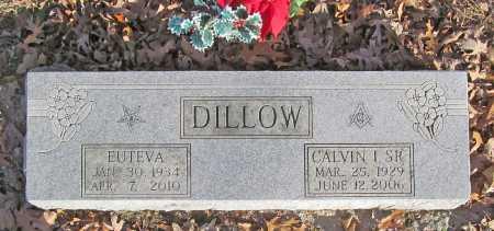 DILLOW, SR (VETERAN KOR), CALVIN I - Benton County, Arkansas | CALVIN I DILLOW, SR (VETERAN KOR) - Arkansas Gravestone Photos