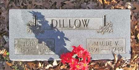 DILLOW, JOHN H. - Benton County, Arkansas | JOHN H. DILLOW - Arkansas Gravestone Photos