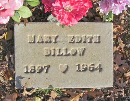 DILLOW, MARY EDITH - Benton County, Arkansas | MARY EDITH DILLOW - Arkansas Gravestone Photos