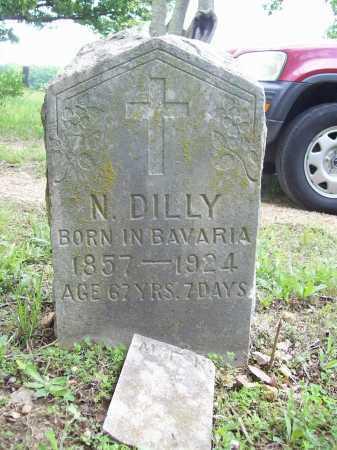 DILLY, N. - Benton County, Arkansas   N. DILLY - Arkansas Gravestone Photos