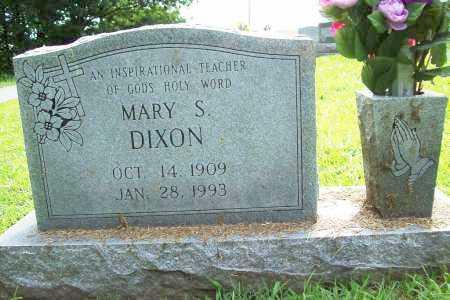 DIXON, MARY S. - Benton County, Arkansas | MARY S. DIXON - Arkansas Gravestone Photos