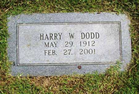 DODD, HARRY W. - Benton County, Arkansas   HARRY W. DODD - Arkansas Gravestone Photos