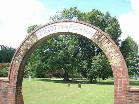 *DODSON CEMETERY,  - Benton County, Arkansas |  *DODSON CEMETERY - Arkansas Gravestone Photos