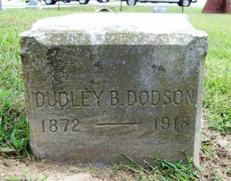 DODSON, DUDLEY B. - Benton County, Arkansas   DUDLEY B. DODSON - Arkansas Gravestone Photos