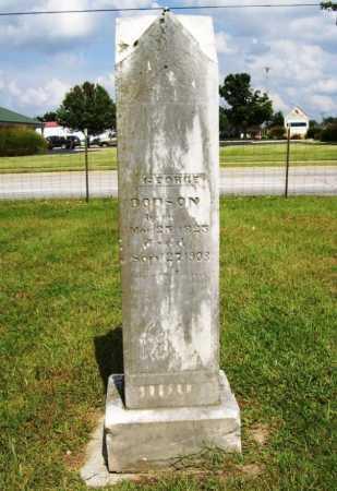 DODSON, GEORGE - Benton County, Arkansas | GEORGE DODSON - Arkansas Gravestone Photos