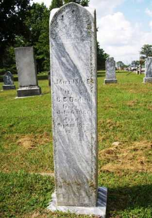 DODSON, MARTHA E. - Benton County, Arkansas | MARTHA E. DODSON - Arkansas Gravestone Photos