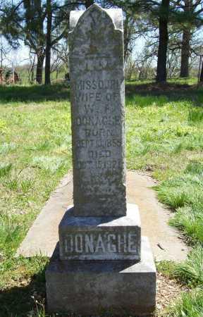 DONAGHE, MISSOURI - Benton County, Arkansas | MISSOURI DONAGHE - Arkansas Gravestone Photos