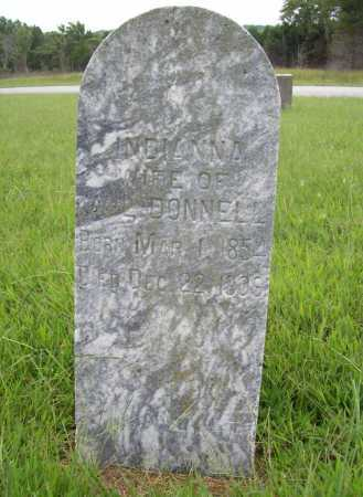 DONNELL, INDIANNA - Benton County, Arkansas | INDIANNA DONNELL - Arkansas Gravestone Photos