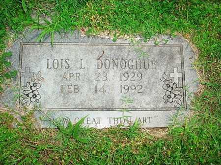 DONOGHUE, LOIS L. - Benton County, Arkansas | LOIS L. DONOGHUE - Arkansas Gravestone Photos