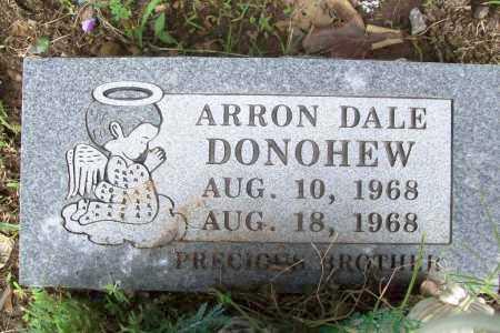 DONOHEW, ARRON DALE - Benton County, Arkansas   ARRON DALE DONOHEW - Arkansas Gravestone Photos