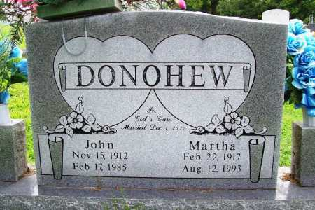 DONOHEW, JOHN - Benton County, Arkansas | JOHN DONOHEW - Arkansas Gravestone Photos
