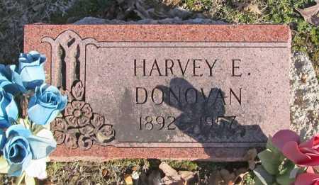 DONOVAN, HARVEY E. - Benton County, Arkansas   HARVEY E. DONOVAN - Arkansas Gravestone Photos