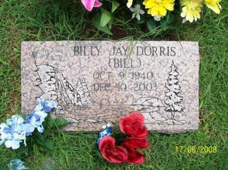 DORRIS, BILLY JAY - Benton County, Arkansas   BILLY JAY DORRIS - Arkansas Gravestone Photos
