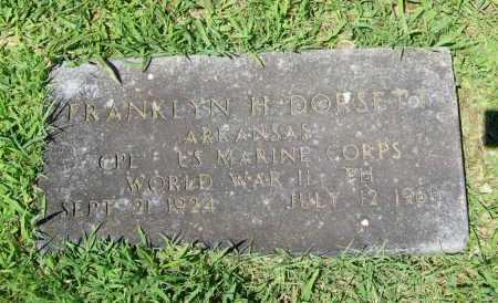 DORSETT (VETERAN WWII), FRANKLYN H. - Benton County, Arkansas | FRANKLYN H. DORSETT (VETERAN WWII) - Arkansas Gravestone Photos